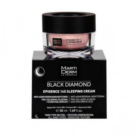 Comprar MARTIDERM BLACK DIAMOND EPIGENCE 145 SLEEPING CREAM
