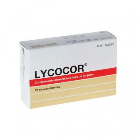 Comprar LYCOCOR 20 CAPS