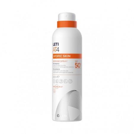 Comprar LETI AT-4 DEFENSE SPRAY SPF 50 200ML
