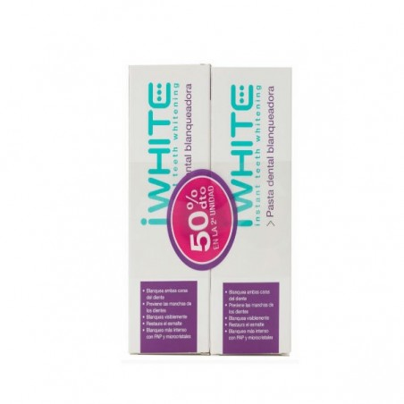 Comprar IWHITE PASTA BLANQUEADORA DUPLO 75+75 ML