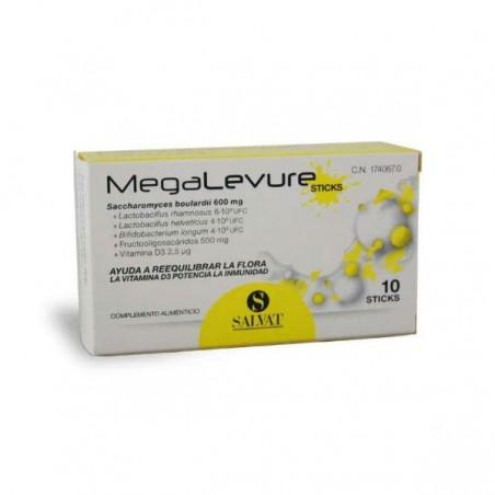 Comprar MEGALEVURE 10 STICKS