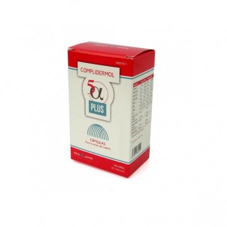 Comprar COMPLIDERMOL 5 ALFA PLUS 60 CAPS