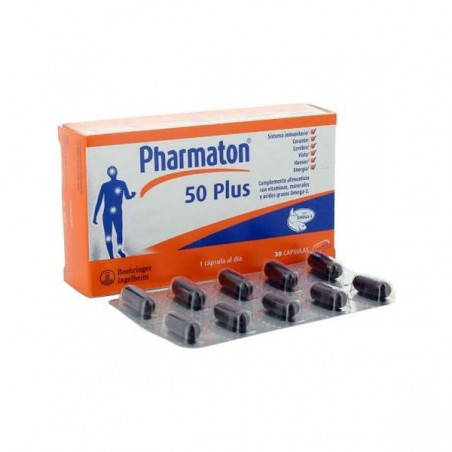 Comprar PHARMATON 50 PLUS 30 CAPS