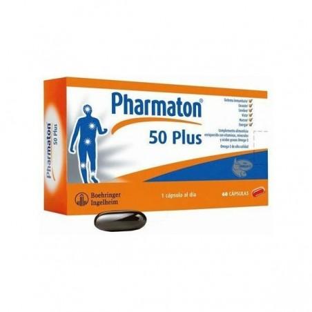 Comprar PHARMATON 50 PLUS 60 CAPS