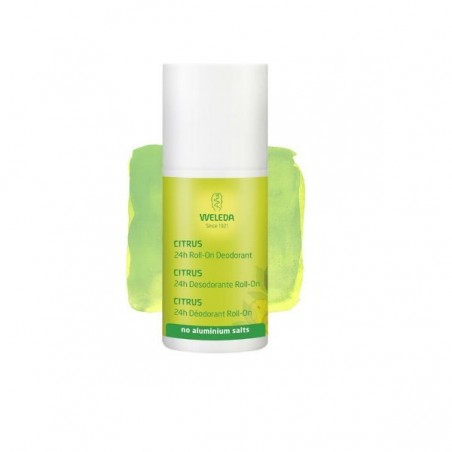 Comprar WELEDA DESODORANTE ROLL-ON CITRUS 24H + 50 ML