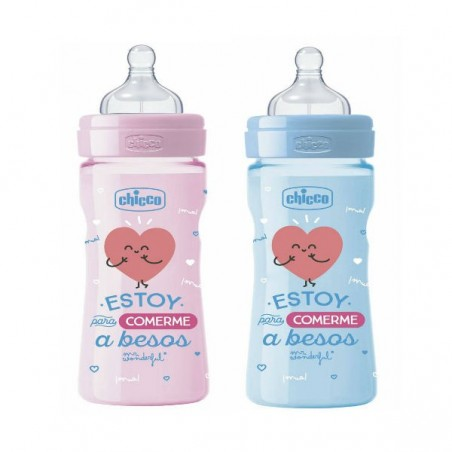 Comprar MR WONDERFUL BIBERÓN 250 ML +2 MESES