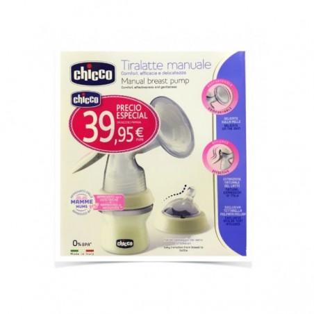 Comprar CHICCO SACALECHES TETINA SILICONA CHICCO NATURAL FEELING
