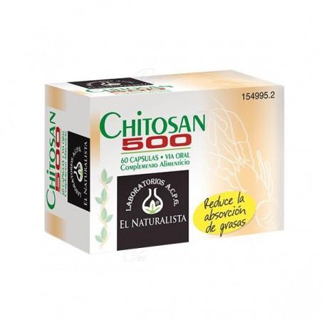 Comprar CHITOSAN 500 EL NATURALISTA