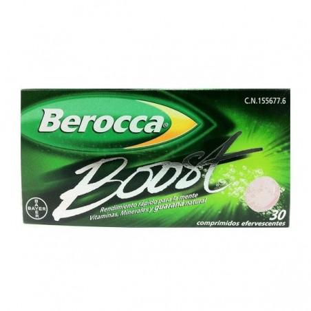 Comprar BEROCCA BOOST COMP EFERVESC 30 COMP