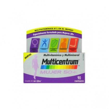 Comprar MULTICENTRUM MUJER 50+ 90 COMP
