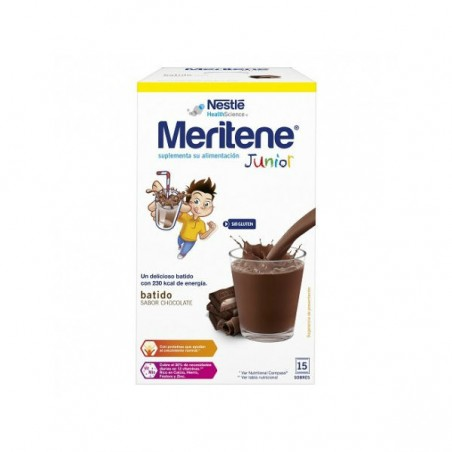 Comprar MERITENE JUNIOR CHOCOLATE 15 SOBRES