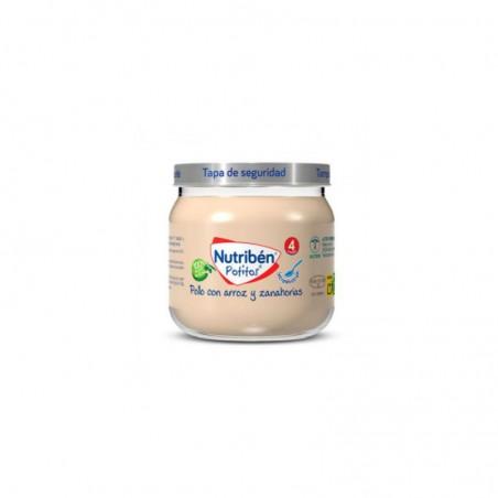 Comprar NUTRIBÉN POLLO CON ARROZ Y ZANAHORIA 120 G