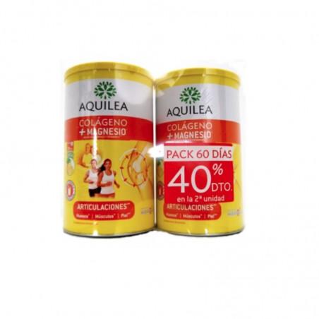 Comprar AQUILEA DUPLO COLÁGENO + MAGNESIO 2 X 375G