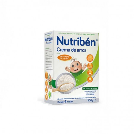 Comprar NUTRIBEN CREMA DE ARROZ 300 GR