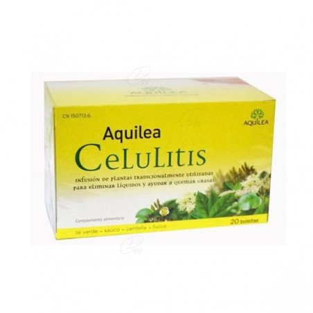 Comprar AQUILEA CELULITIS 1.2 G 20 FILTROS