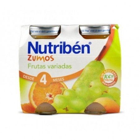 Comprar NUTRIBÉN ZUMO FRUTAS VARIADAS 130 ML