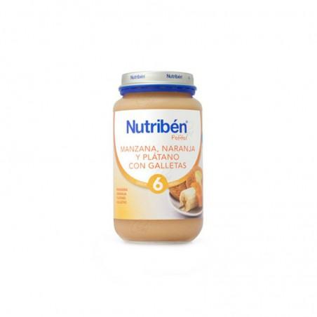 Comprar NUTRIBÉN MANZANA NARANJA PLÁTANO Y GALLETA 250 G