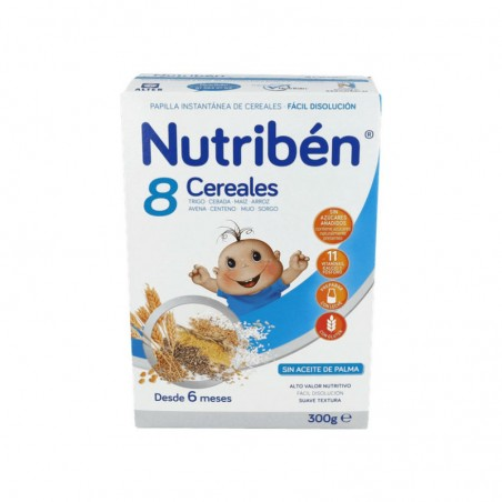 Comprar 8 CEREALES NUTRIBÉN 300 G