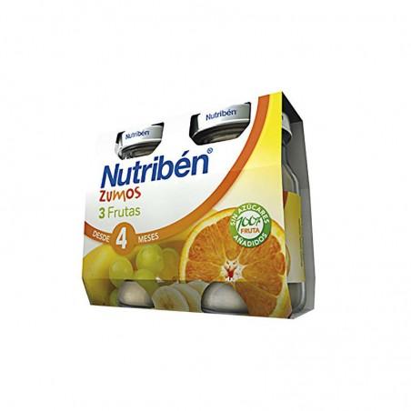 Comprar NUTRIBÉN ZUMO 3 FRUTAS 130 ML