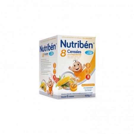 Comprar NUTRIBEN 8 CEREALES Y MIEL CON LECHE ADAPTADA 600 G