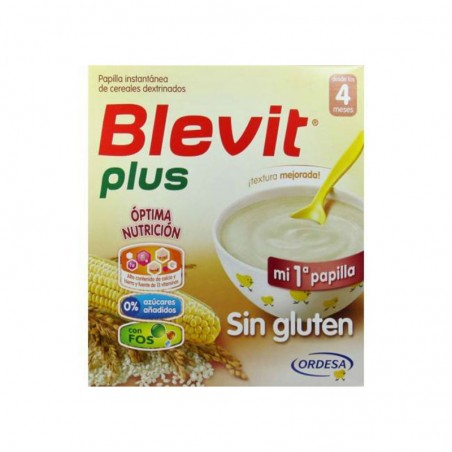 Comprar BLEVIT PLUS SIN GLUTEN 600 G