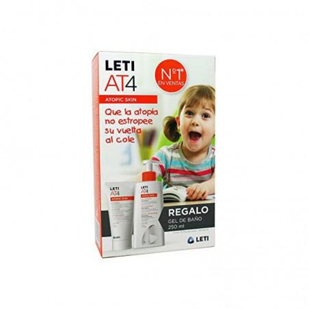 Comprar LETI AT4 CREMA INTENSIVE 100 ML + GEL BAÑO 250 ML
