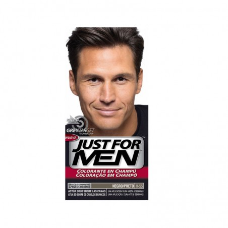 Comprar JUST FOR MEN COLORANTE NEGRO 30 ML