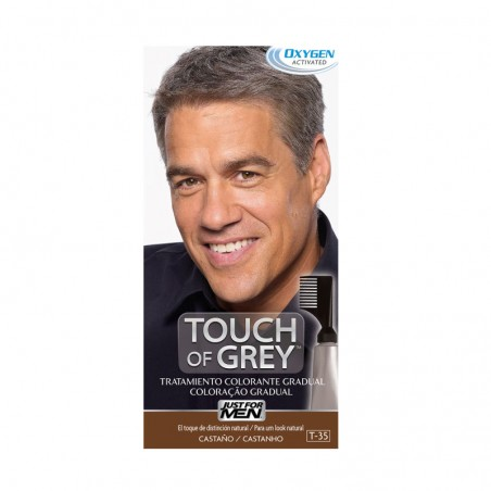 Comprar JUST FOR MEN TOUCH OF GREY CASTAÑO 40 G