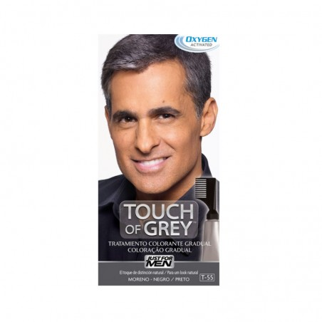 Comprar JUST FOR MEN TOUCH OF GREY MORENO NEGRO 40 G
