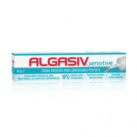 Comprar ALGASIV SENSITIVE CREMA ADHESIVA PARA DENTADURAS POSTIZAS 40 G