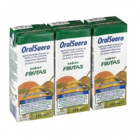 Comprar ORALSUERO FRUTA 3 BRICK 200 ML