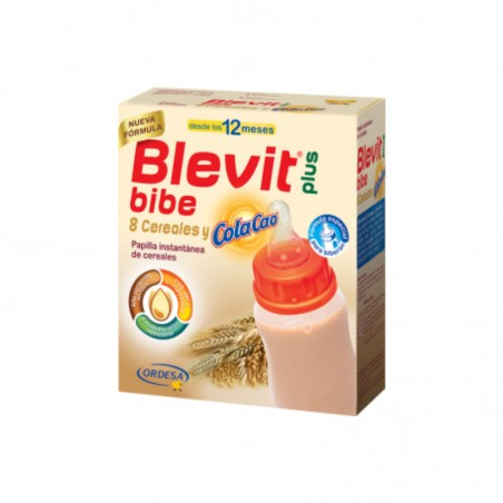 Comprar BLEVIT PLUS BIBE 8 CEREALES Y COLA CAO 600 G