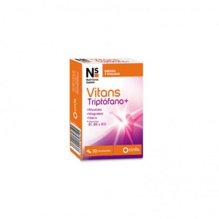 Comprar NS VITANS TRIPTÓFANO+ 30 COMPRIMIDOS