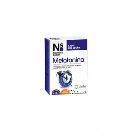 Comprar NS MELATONINA 30 COMPRIMIDOS MASTICABLES