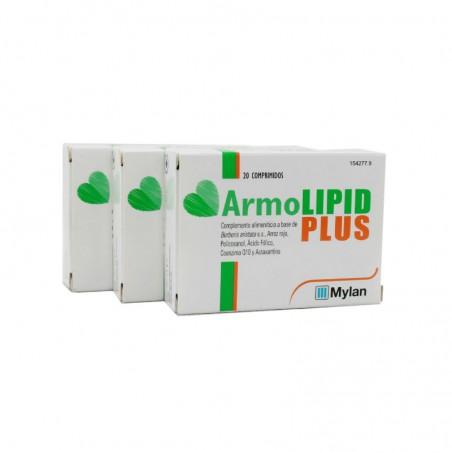 Comprar ARMOLIPID PLUS 3 X 20 COMPRIMIDOS