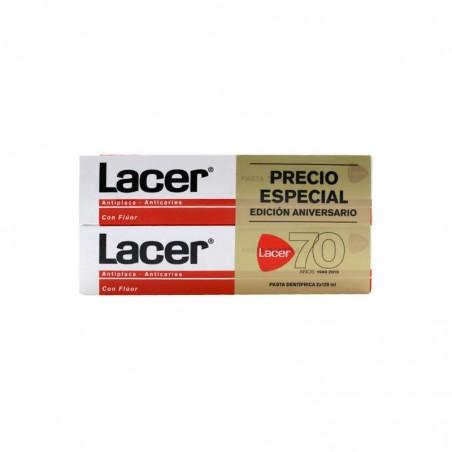 Comprar LACER PASTA DENTÍFRICA CON FLÚOR 2 X 125 ML