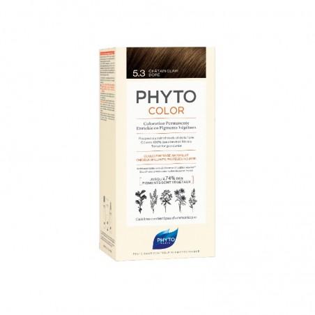 Comprar PHYTOCOLOR TINTE 5.3 CASTAÑO CLARO DORADO