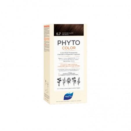 Comprar PHYTOCOLOR TINTE 5.7 CASTAÑO MARRÓN CLARO