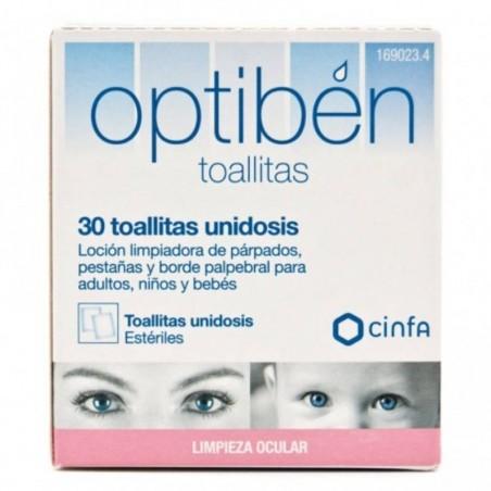 Comprar OPTIBEN 30 TOALLITAS UNIDOSIS