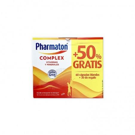 Comprar PHARMATON COMPLEX 60 + 30 CÁPSULAS REGALO