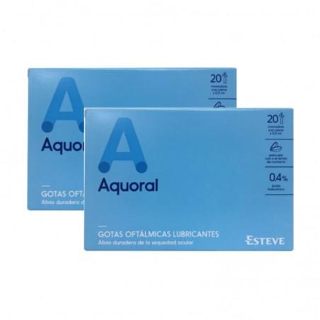 Comprar AQUORAL MONODOSIS 0.5 ML 20 UDS PACK DE 2