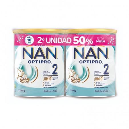Comprar NAN 2 OPTIPRO DUPLO DE 2 X 800G