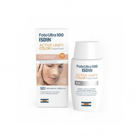 Comprar FOTOULTRA ACTIVE UNIFY FUSION FLUID COLOR ISDIN 50 ML