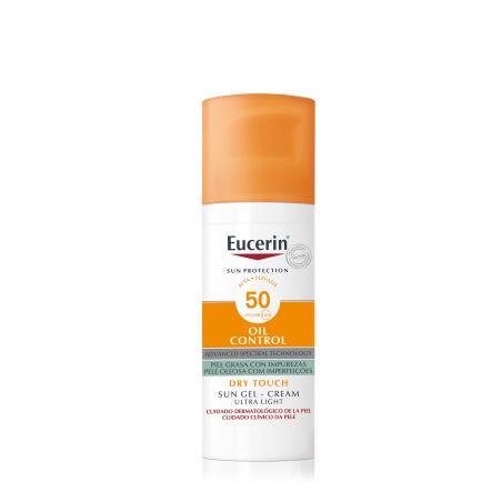 Comprar EUCERIN SUN GEL CREMA OIL CONTROL FACIAL SPF50+