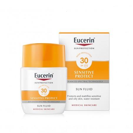 Comprar EUCERIN FOTOPROTECTOR SUN FLUID MATIFICANTE  SPF 30 50ML