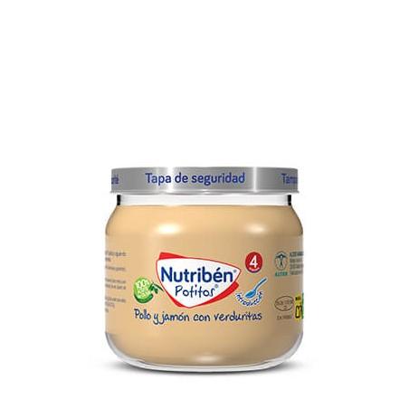 Comprar NUTRIBÉN POLLO Y JAMÓN CON VERDURITAS 120 G