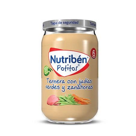 Comprar NUTRIBÉN TERNERA CON JUDÍAS VERDES Y ZANAHORIAS 235 G