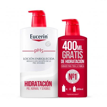Comprar EUCERIN FAMILY PACK LOCIÓN ENRIQUECIDA 1000ML + 400ML GRATIS