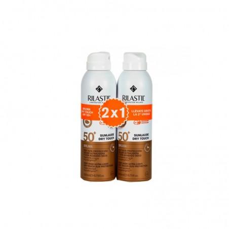 Comprar SUNLAUDE DRY TOUCH BRUMA SPF 50+ 2 X 200 ML