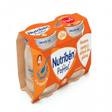 Comprar PACK NUTRIBEN POTITOS FRUTAS CON GALLETA 120G